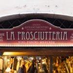 """Prosciutto ve """"La Prosciutteria"""" Trastevere, Roma"""